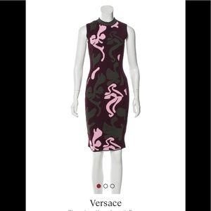 VERSACE body con dress